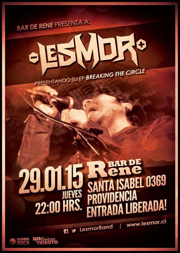Recitales en Chile Enero :                                                                   LESMOR
