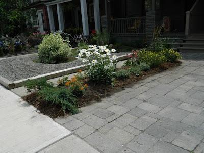 Paul Jung Toronto Gardening Services Leslieville front garden renovation after
