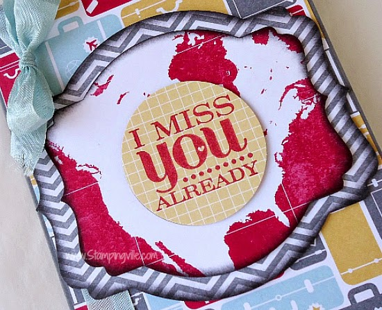 Miss You card featuring the Really Good Greetings Stamp Set by Stampin' Up!