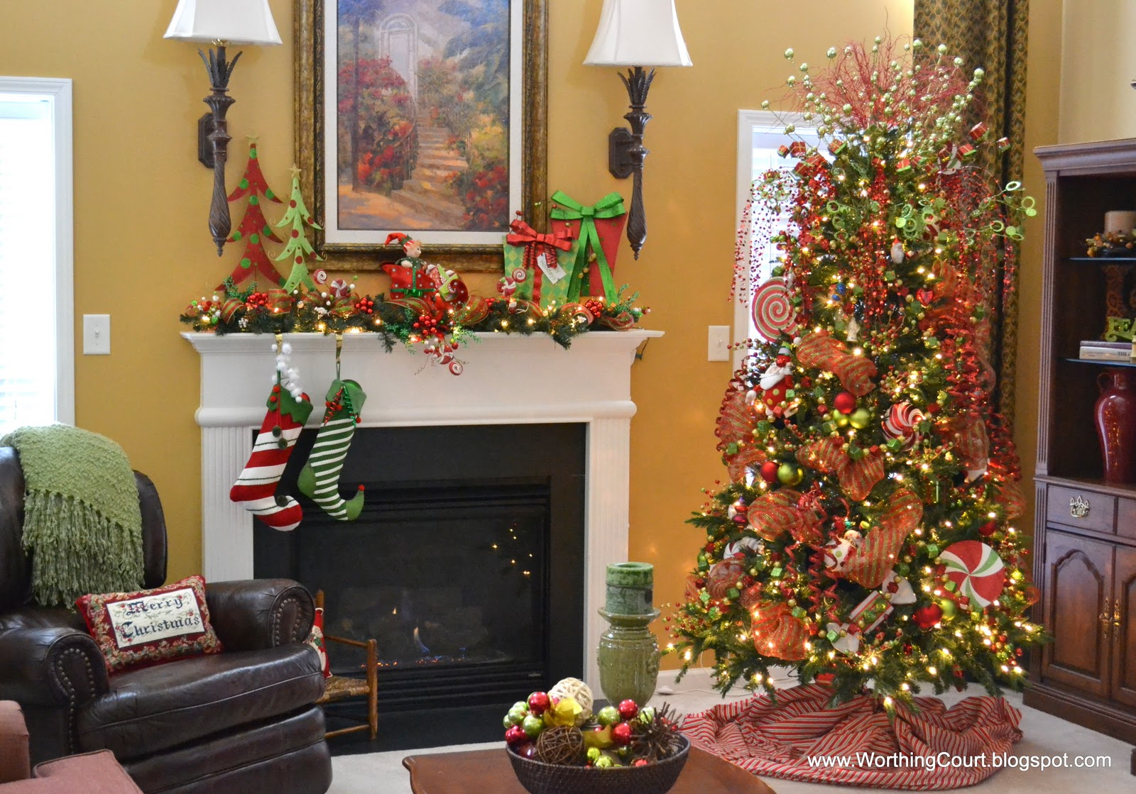 Our whimsical christmas tree worthing court for Whimsical decor