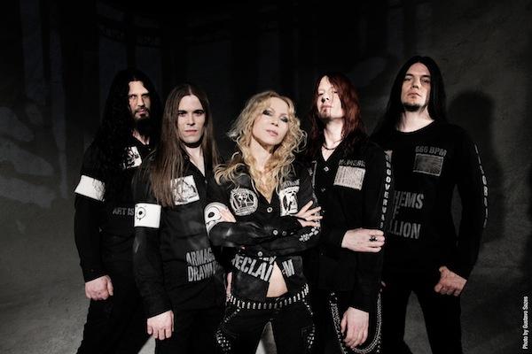 Arch enemy en lima per en su gira latin american khaos 2012 dargedik rock metal webzine - Arch enemy diva satanica ...