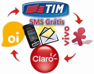enviar torpedos SMS grátis pela internet