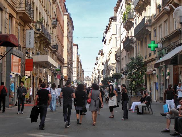 Rue Vitctor Hugo, Lyon