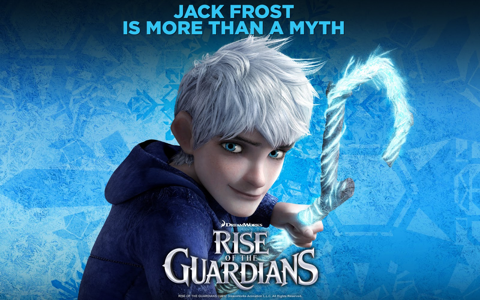 Jack Frost : Rise of the Guardians Movie Wallpaper
