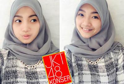 Foto Sendy JKT48 hijab kerudung