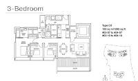 Skyline Residences Floor Plans 3 Bedrooms