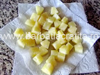 Prajitura cu ananas din compot preparare reteta
