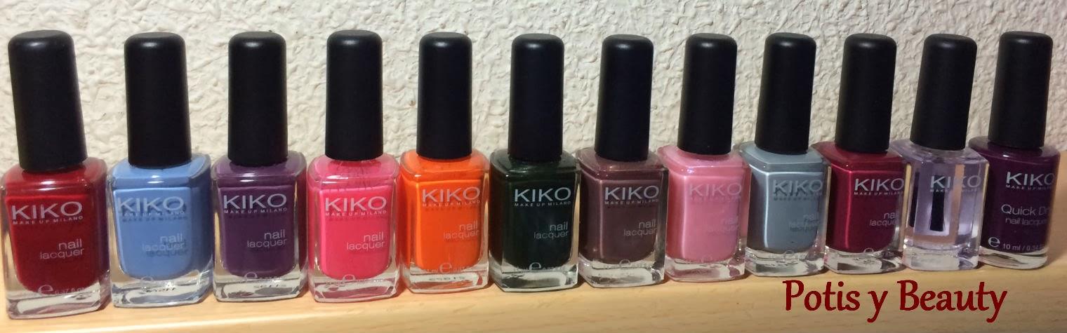 Colección esmaltes (Kiko)