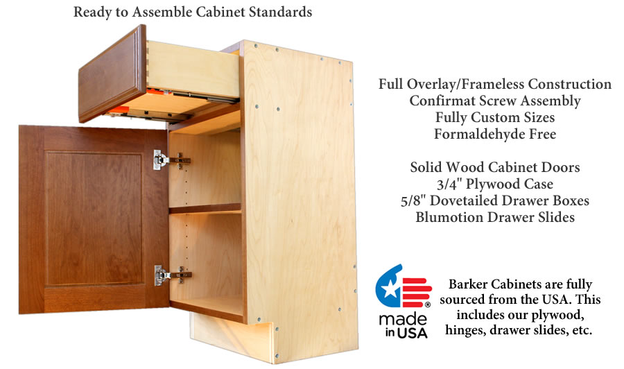 Barker doors barker cabinets cabinets cabinetry for Barker kitchen cabinets