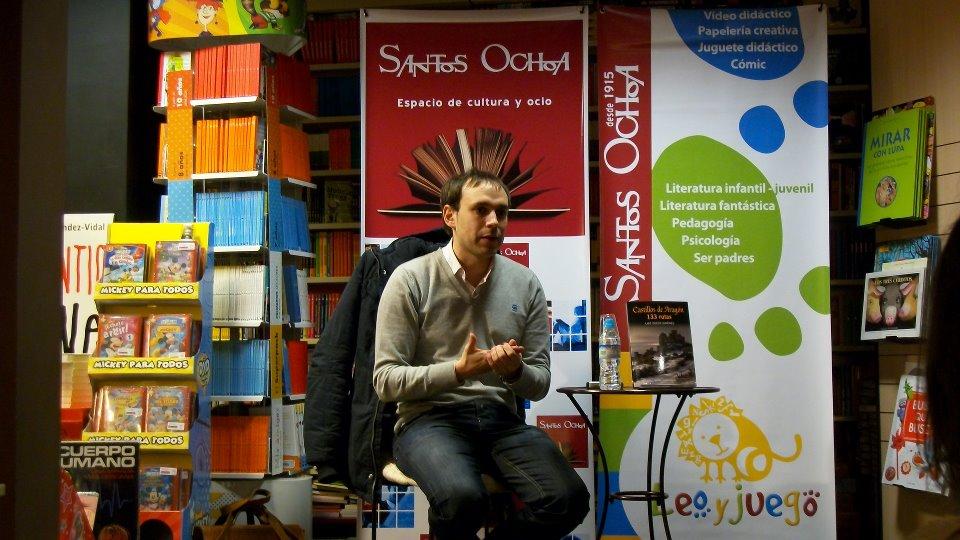 Presentación en la Librería Santos Ochoa de Huesca