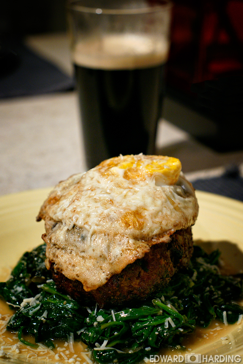 Man Cave Burgers : Eggin with edward cave man burgers going primal