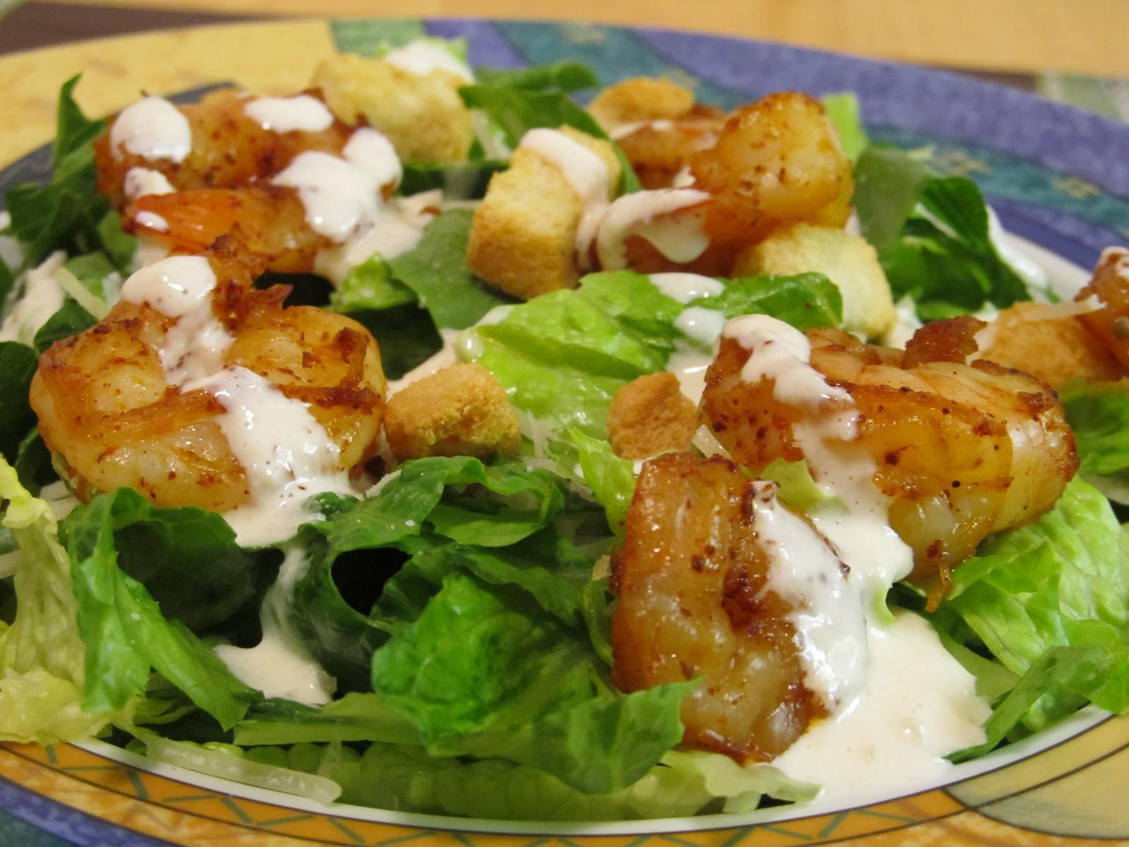 Самый вкусный рецепт цезаря с креветками