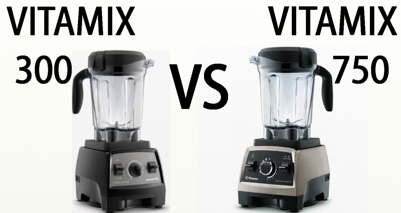 Vitamix Pro Series 300 Vs Vitamix Pro Sereis 750