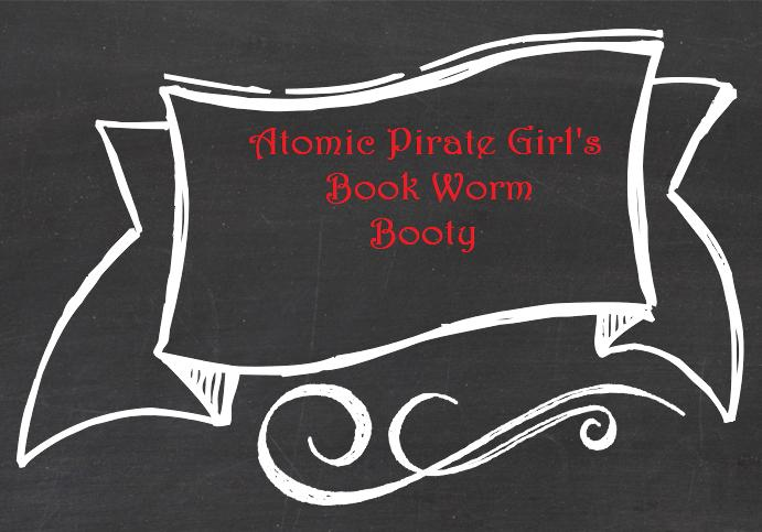 Atomic Pirate Girl's Book Worm Booty