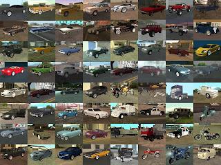 Cara Memodifikasi kendaraan di Gta San andreas