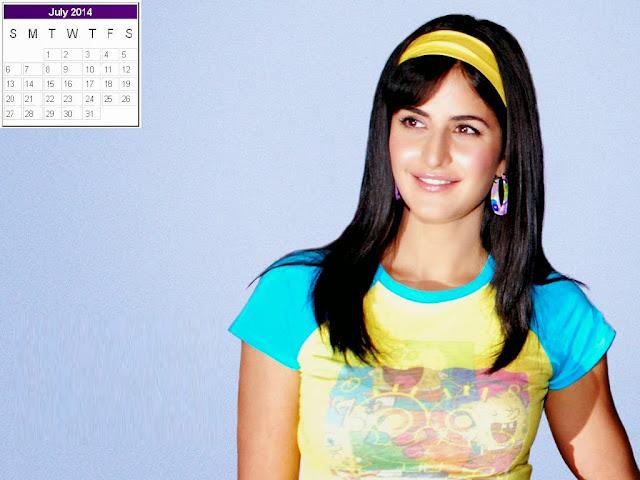 Katrina Kaif Calendar 2014