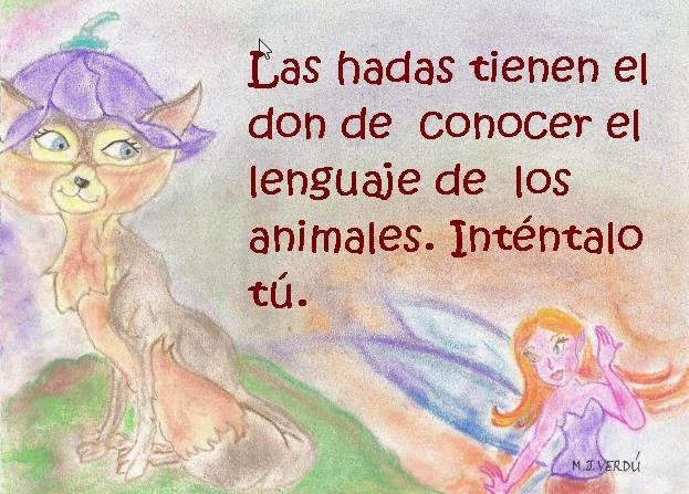 Las hadas y el amor por los animales
