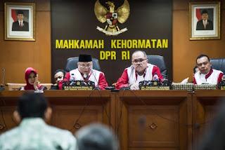 pelanggaran tersebut terjadi ketika adanya pertemuan antara presiden Direktur Pt. Freeport Indonesia dengan Ketua DPR Setya Novanto yang juga turut di hadiri oleh Saudagar Minyak Muhamad Riza Chalid