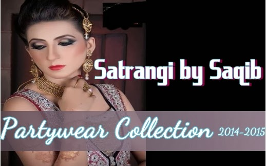 Satrangi By Saqib PartyWear 2014