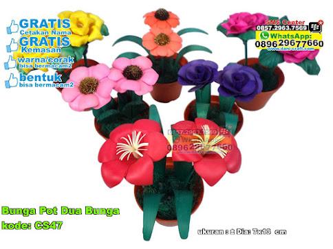 Bunga Pot Dua Bunga