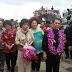 Gubernur SHS Bersama Rombongan Tiba di Kepulauan Sangihe