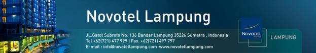 Lowongan Novotel Lampung Terbaru November 2013