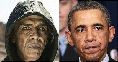 Tokoh Setan Mirip Obama pada The Bible