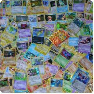 a pile of pokemon cards