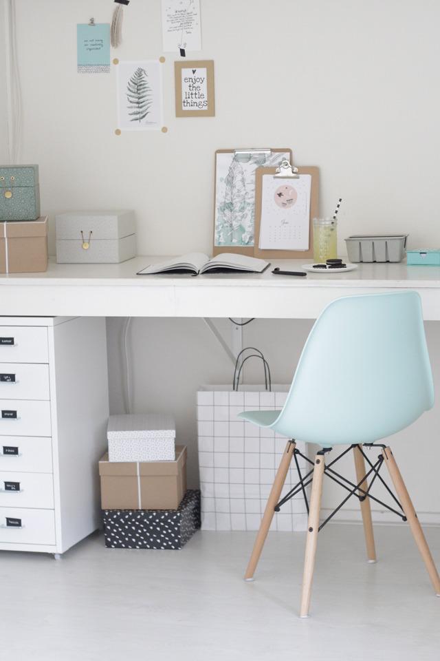 Boho deco chic como tener un despacho de pinterest en colores pastel - Deco kamer fotos ...