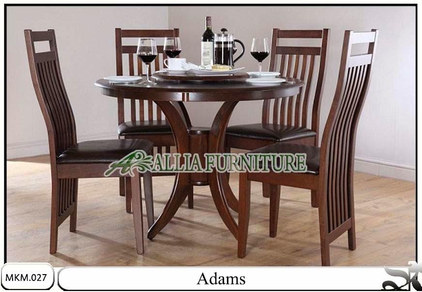 Meja makan model minimalis Adams