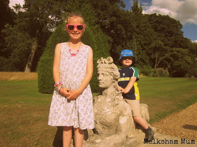 Statues at Blickling Hall