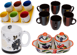 Paytm : Buy Somny Cups and Saucers Extra 50% Cashback on Rs. 599 : BuyToEarn