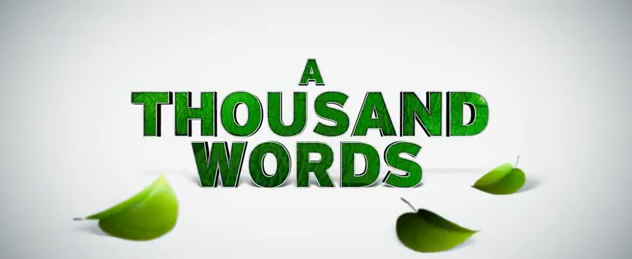 A Thousand Words 2012 comedy movie title starring Eddie Murphy life lessons honesty word of honor