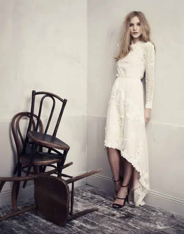 H&M High Street Cheap Wedding Dresses   bridal trend ideas