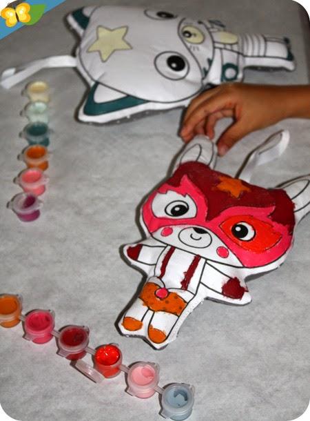Super ANIM' - à peindre - Avenue Mandarine : Miaou et Looping