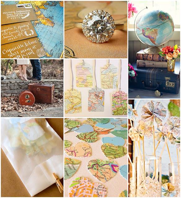 Ideas para una boda inspirada en viajes