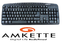 Buy Amkette RX3 USB Multimedia Keyboard at Rs.99 : Buytoearn