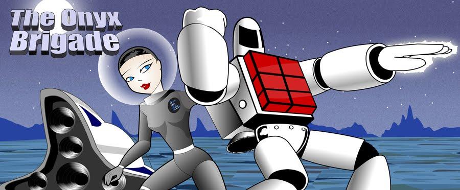 The Onyx Brigade - Superhero Webcomic