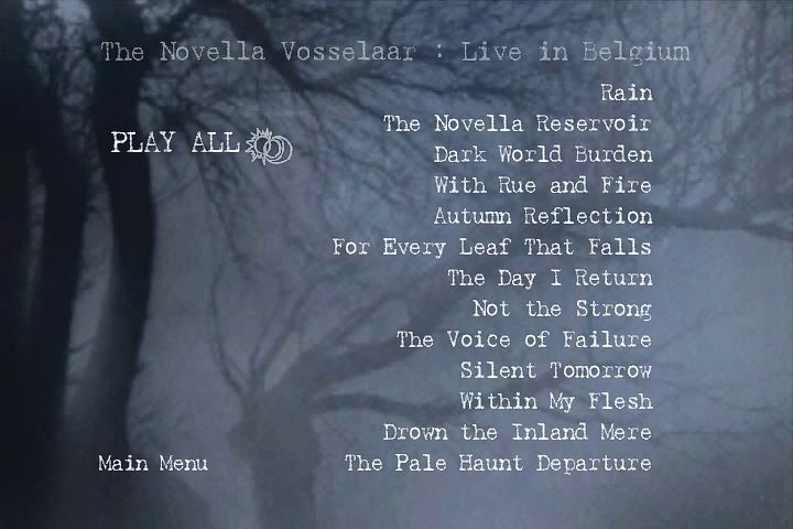 Novembers Doom - The Novella Vosselaar: Live In Belgium[DVD]
