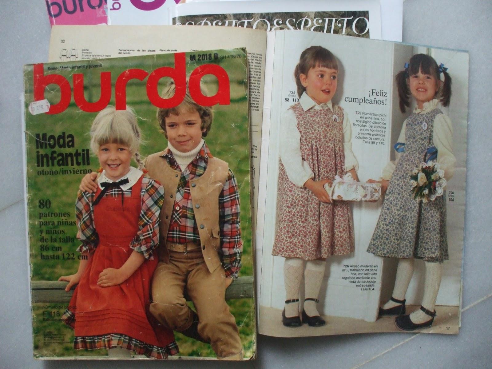 la inglesita: Otras revistas de patrones de niños, además del Burda ...