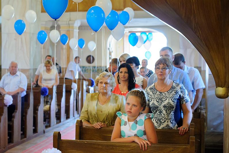 Bažnyčios puošyba balionais