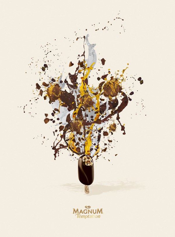 Exploding Magnum Ice Cream Ads Seen On www.coolpicturegallery.us