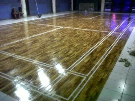 jenis lantai parket kayu dari bahan kayu solid jati
