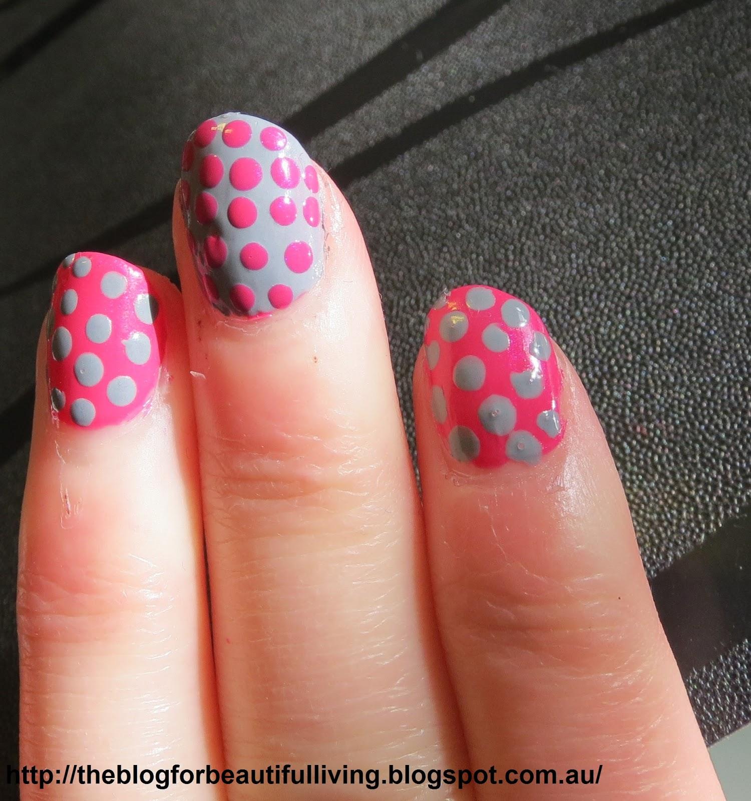 Girly Nail Art: Beautiful Living: Girly Girly Nail Art Challenge