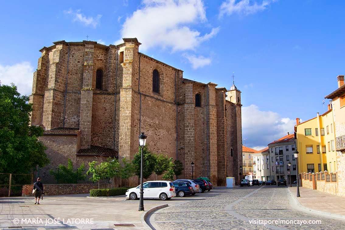 Basilica de la Virgen de los Milagros de Agreda