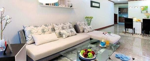Phòng khách căn hộ Hoàng Anh Thanh Bình