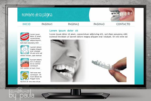 diseños para web, braces colors, by paula