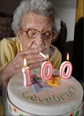 Mamie fête ses 100 ans