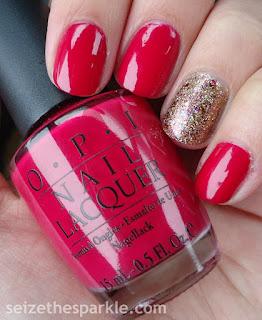 OPI Conquistadorable Color Accent Nails