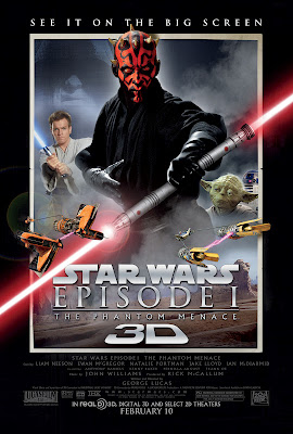 15th Febuary -Star Wars Episode 1 3D with Enzo